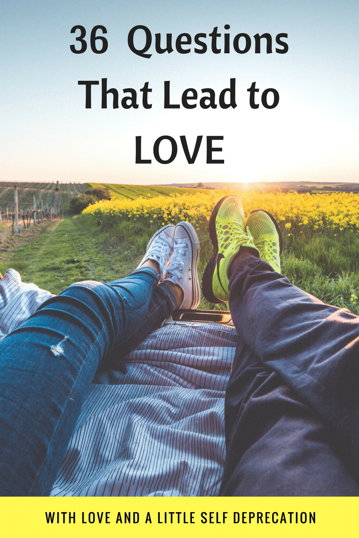 36 questions that lead to love. And stay in love!