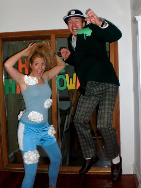 The Sky no-sew Halloween costume idea kids or adults