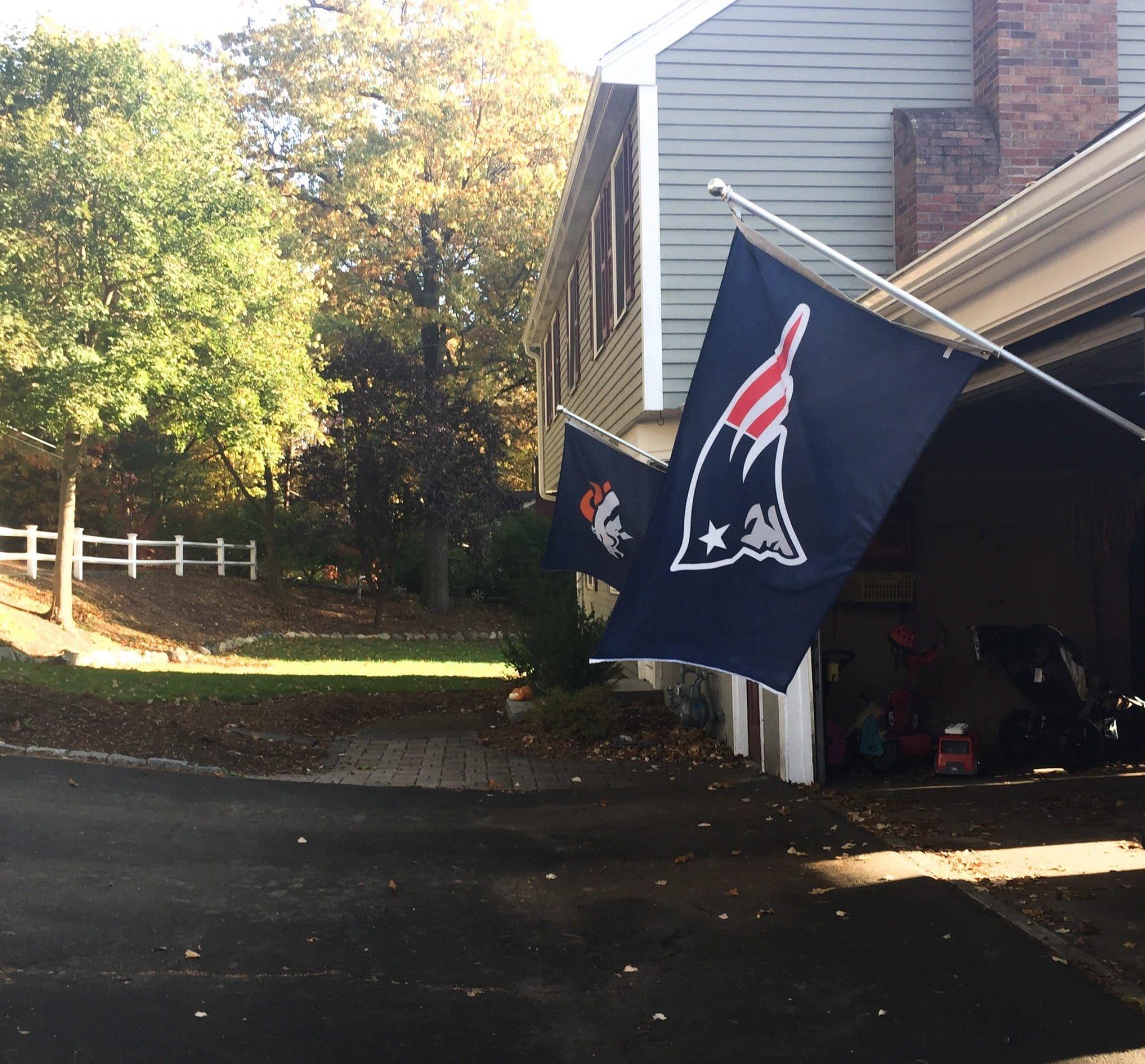 NFL team flags