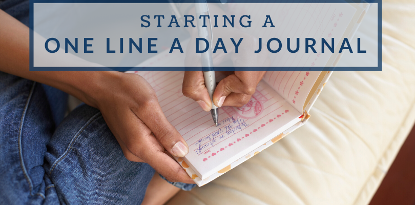 My One Line a Day Journal Taught Me Five Important Lessons