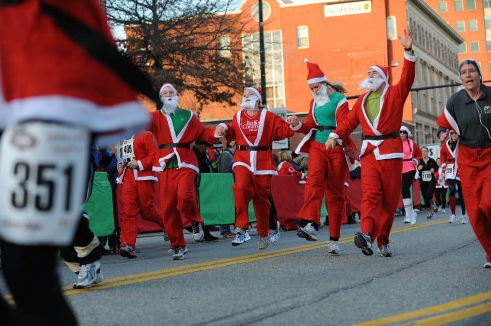 Santa Shuffle 5K 2011