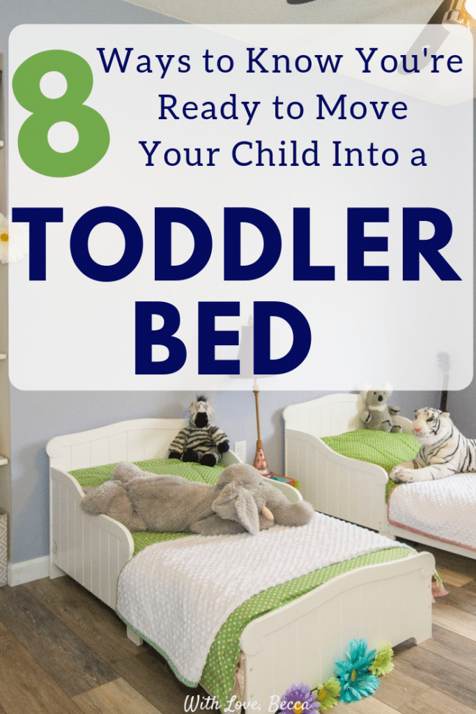 Should you move your child into a toddler bed? Find out if you and your family are ready!