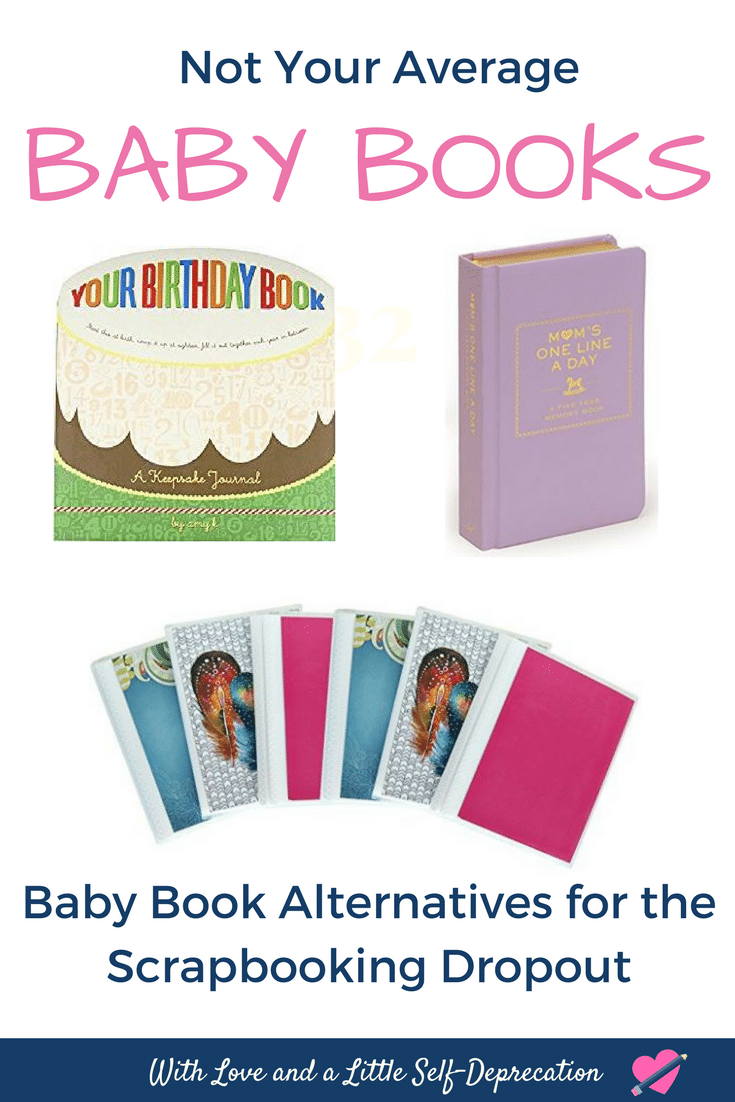 easy baby book alternatives to baby scrapbooks