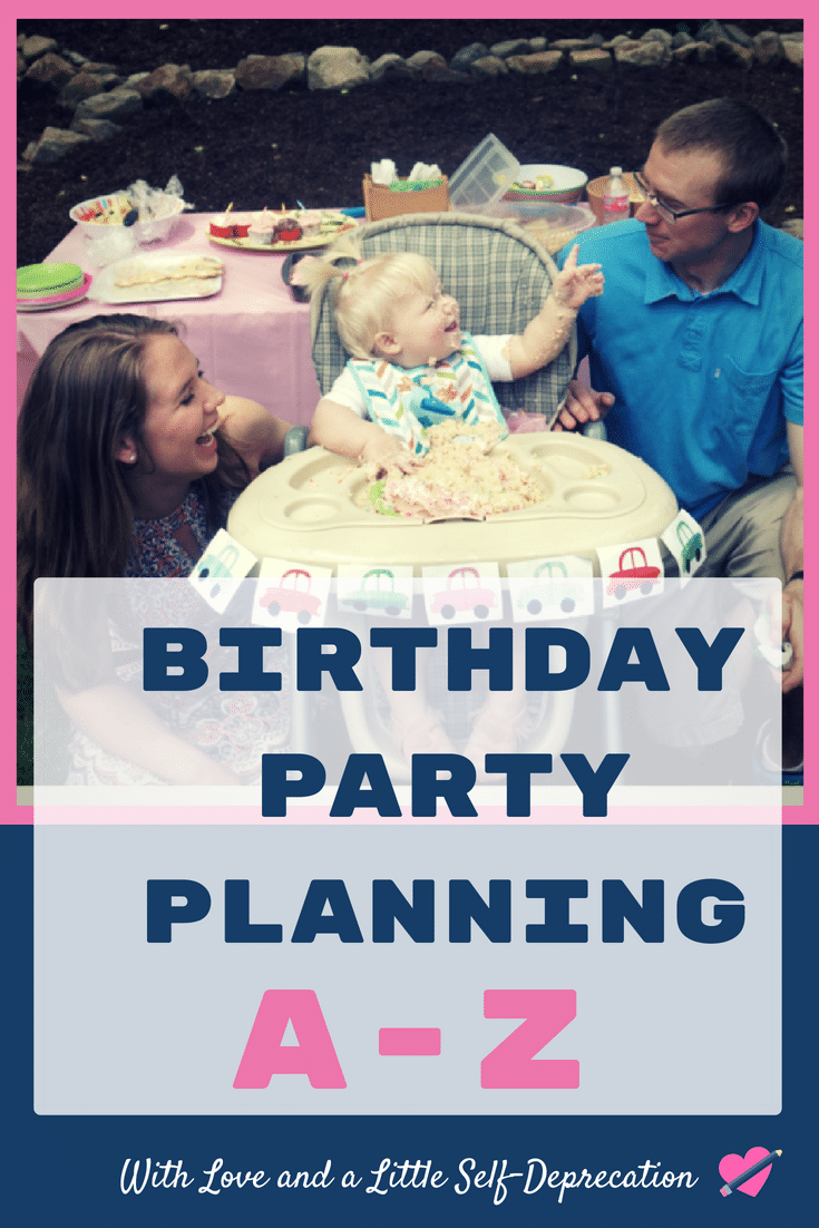 Simple Birthday Party Planning from A to Z. Party planning hacks to save you time, money, and sanity.