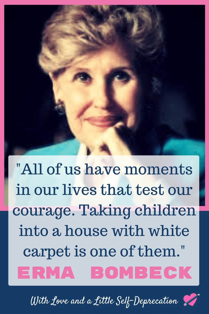 Erma Bombeck - the Godmother of Parenting Humor #funnymoms #humorist #parentinghumor