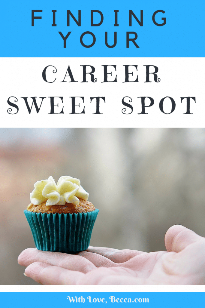 How to find your career sweet spot. Advice from a career coach on how to find a job that puts you into flow. The sweet spot is right there - you just need to uncover it.