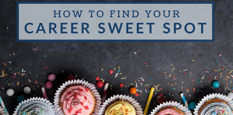 How to Find Your Career Sweet Spot: A Career Development Exercise
