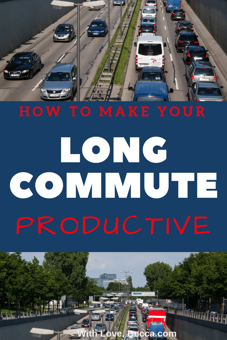 How to make you long commute productive with the six steps from The Miracle Morning.