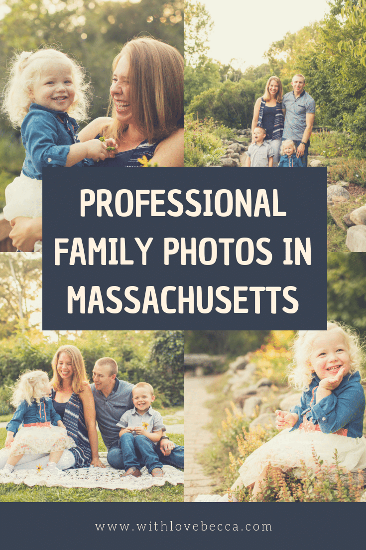 Find a professional family photographer in Massachusetts!