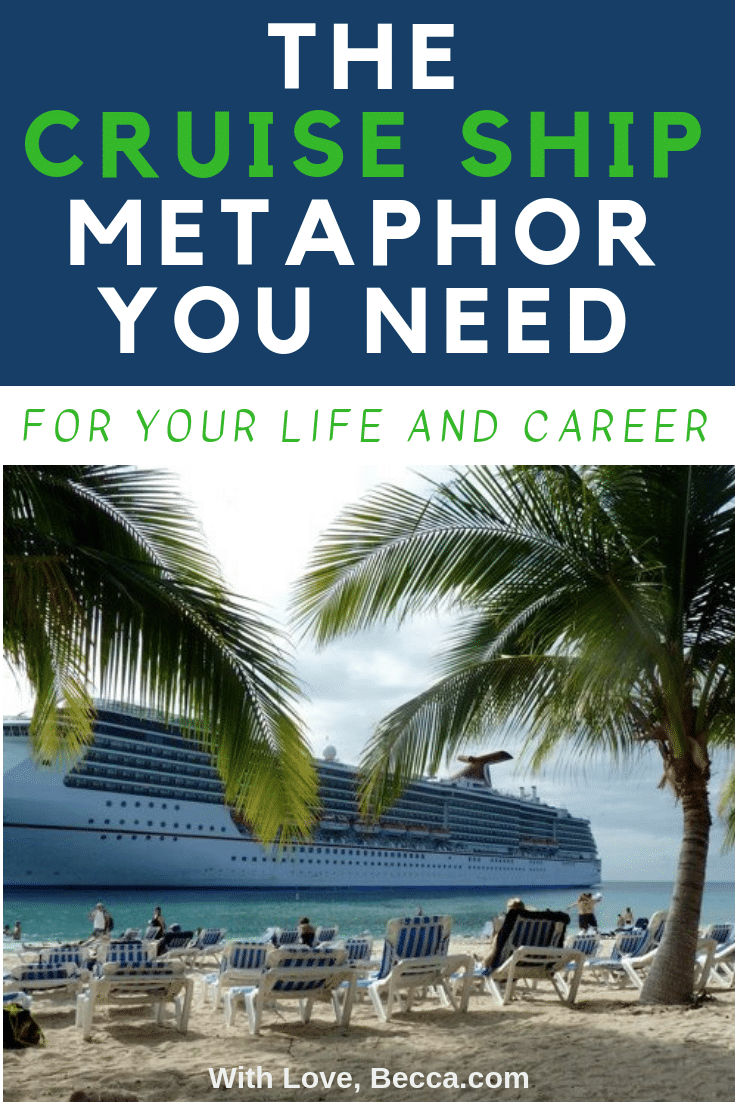 """Are you in the process of figuring out where to dock your cruise ship? <strong><a href=""""http://withlovebecca.com/2018/06/24/having-it-all/"""" target=""""_blank"""" rel=""""noopener"""">You're going to want to read this."""