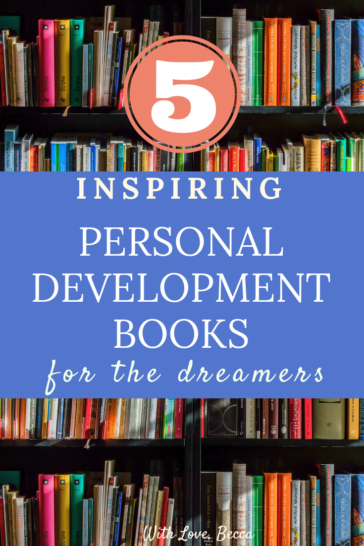 Inspiring personal development books for the dreamers. Frameworks, mindsets, and inspirational stories to give you that get up and go. #bookreviews