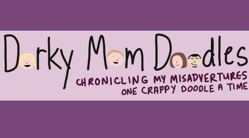 Dorky Mom Doodles Book