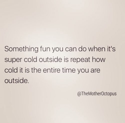 Funny cold weather memes