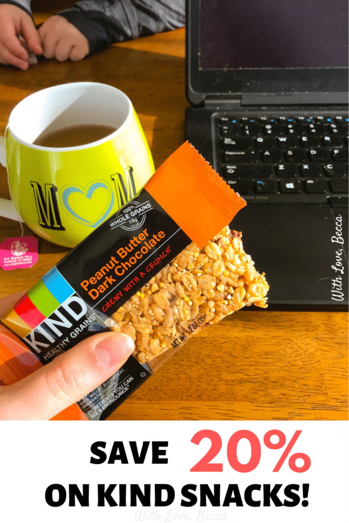 Be kind to yourself - Save 20% on KIND snacks #bekind #kindness #savemoney #healthyeating