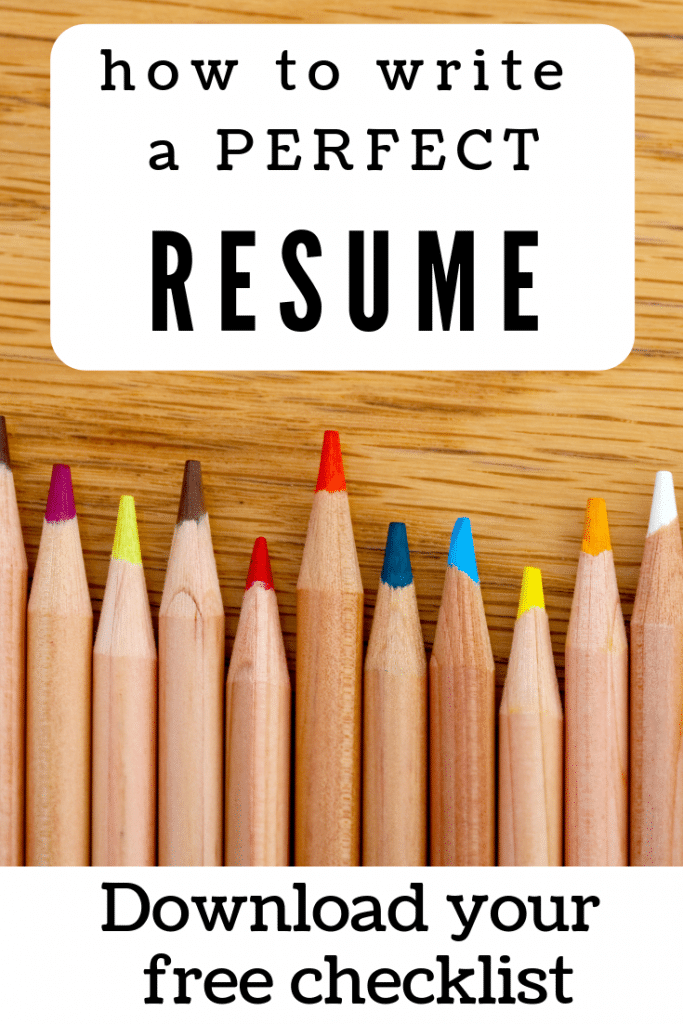 How to write a perfect resume. How to write a resume that works. Resume tips for anyone who needs to update their resume. Great for anyone changing industries, re-entering the workforce, or applying to jobs for the first time in years! #resume #resumewriting #resumetips #careeradvice #Careercoaching