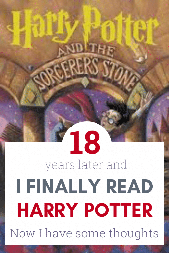 I finally read Harry Potter, and I have some thoughts. Harry Potter Review.