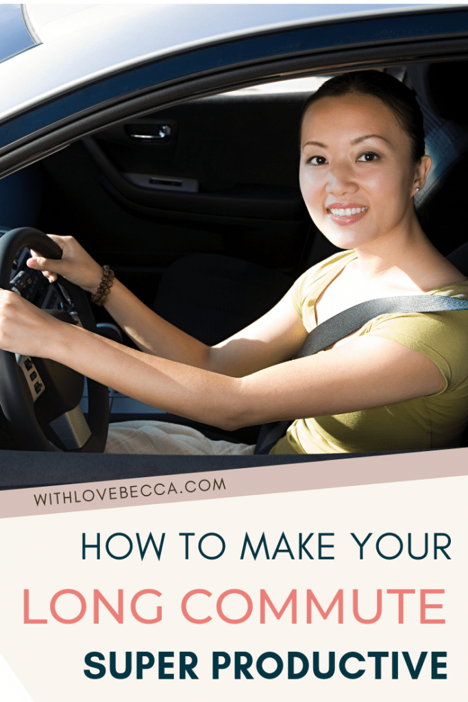 How to make your long commute productive