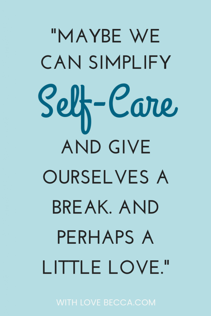 Make self-care easy. Simply by kind to yourself! #selfcare #kindness #bekind