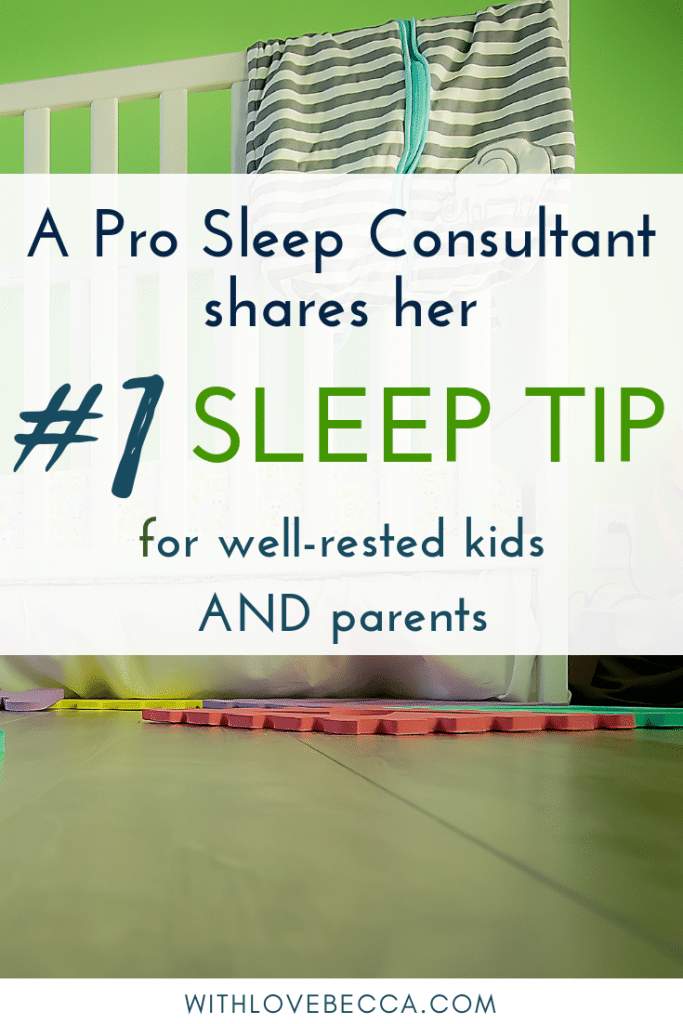 A professional sleep consultant shares her #1 sleep tip for kids.