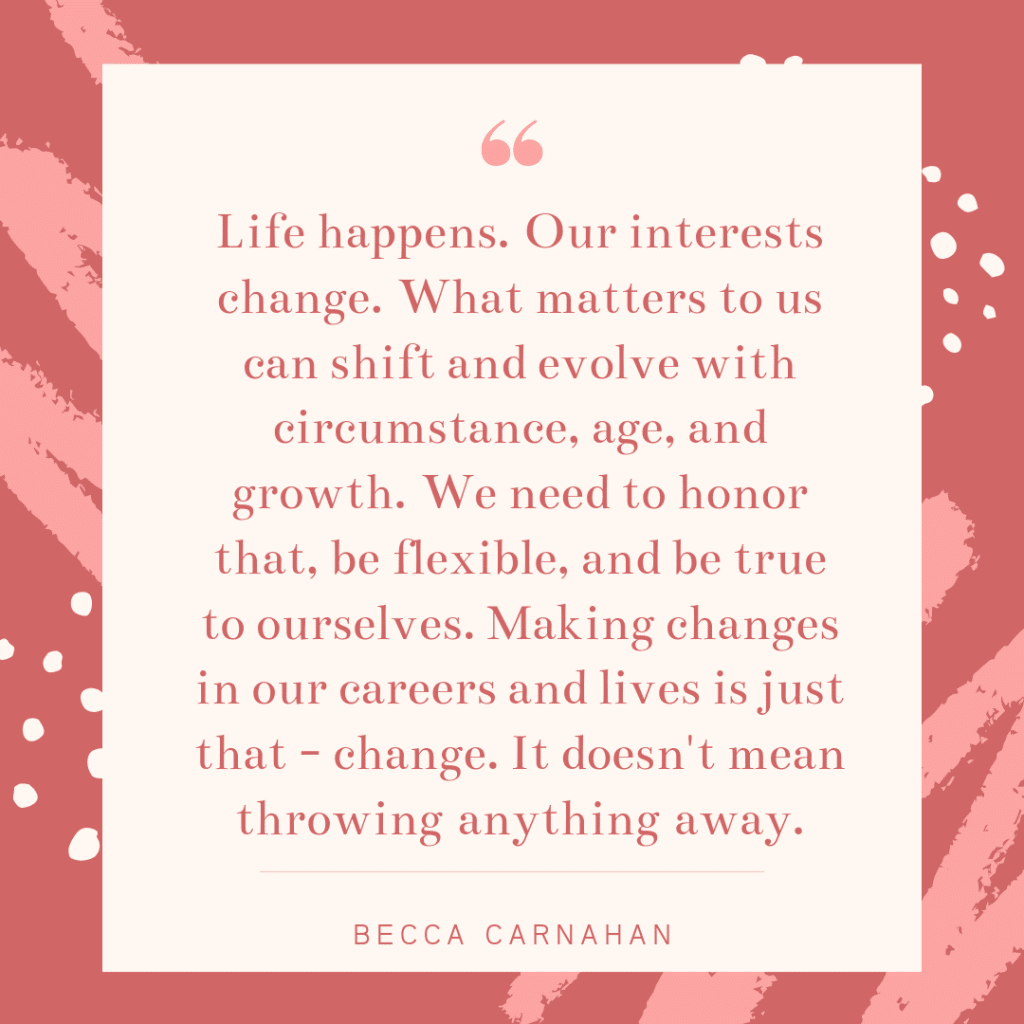 Inspirational working mom quote - Becca Carnahan