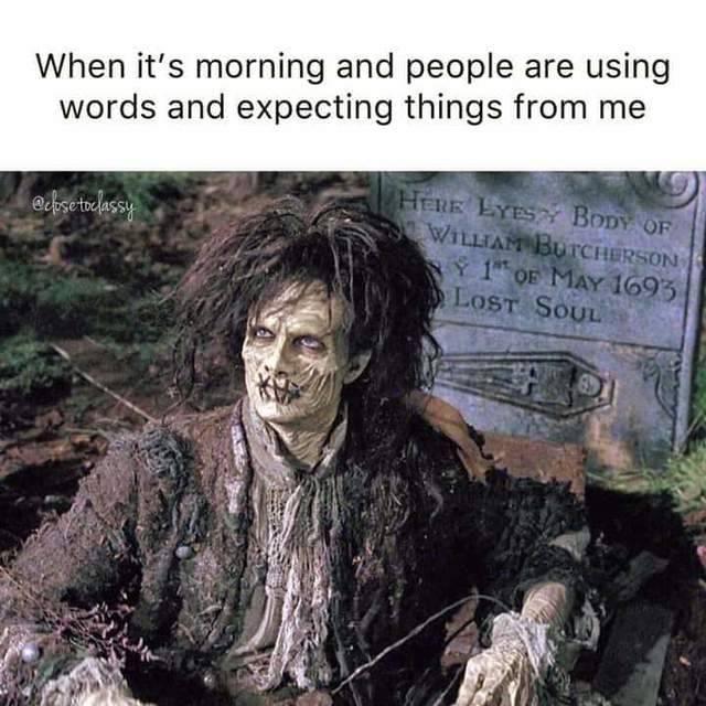 Hocus Pocus Meme - Zombie