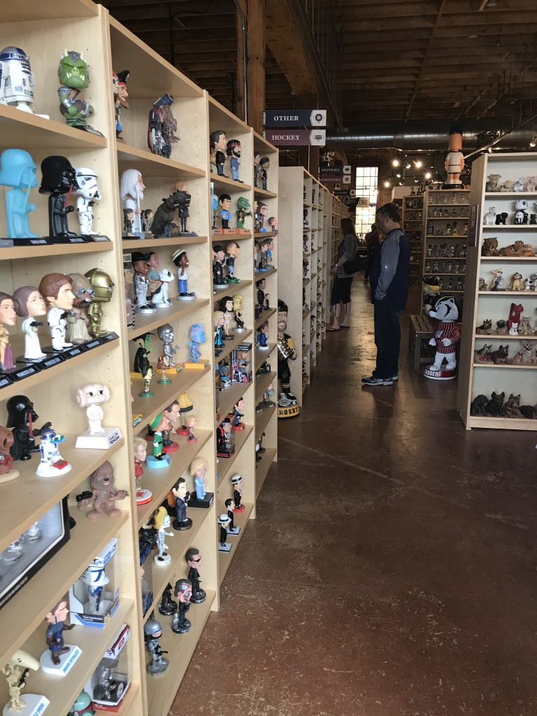 48 Hours in Wisconsin visiting the National Bobblehead Hall of Fame and Museum