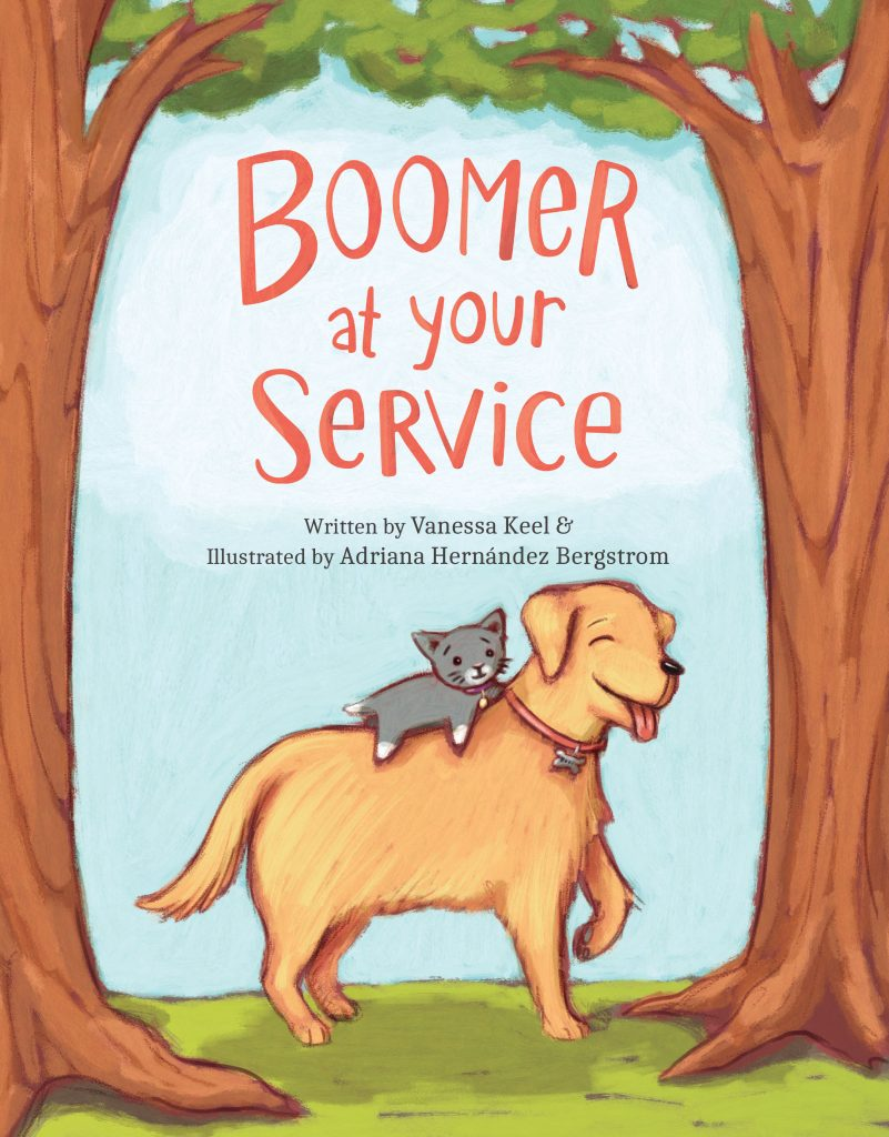 Boomer at Your Service Cover