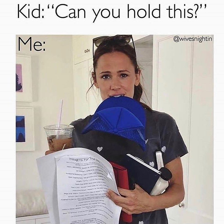 Jennifer Garner funny mom meme