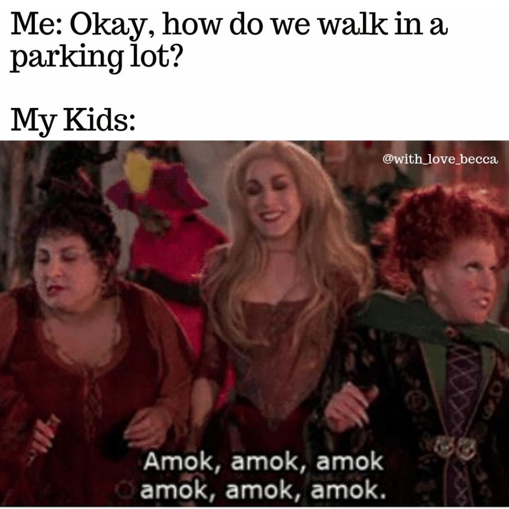 Hocus Pocus Meme - Amok, amok, amok
