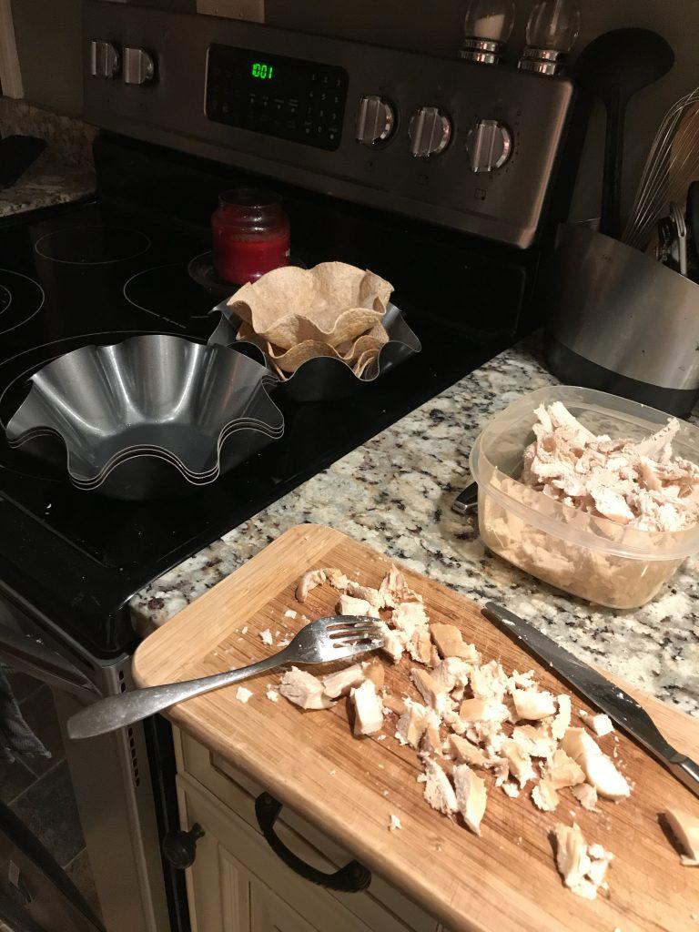 Taco bowls at 10 PM