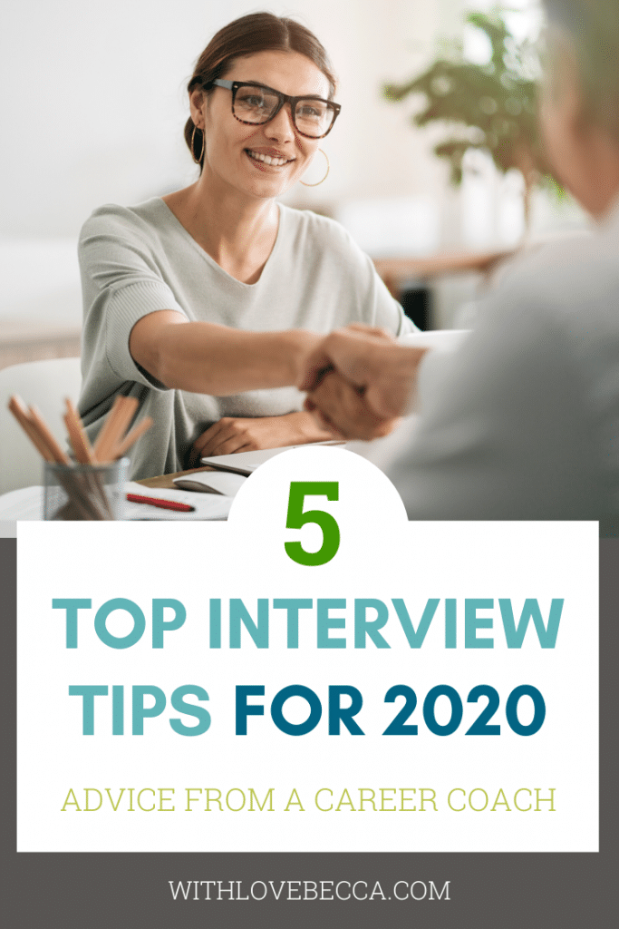 Top Interview Tips and Tricks for 2020