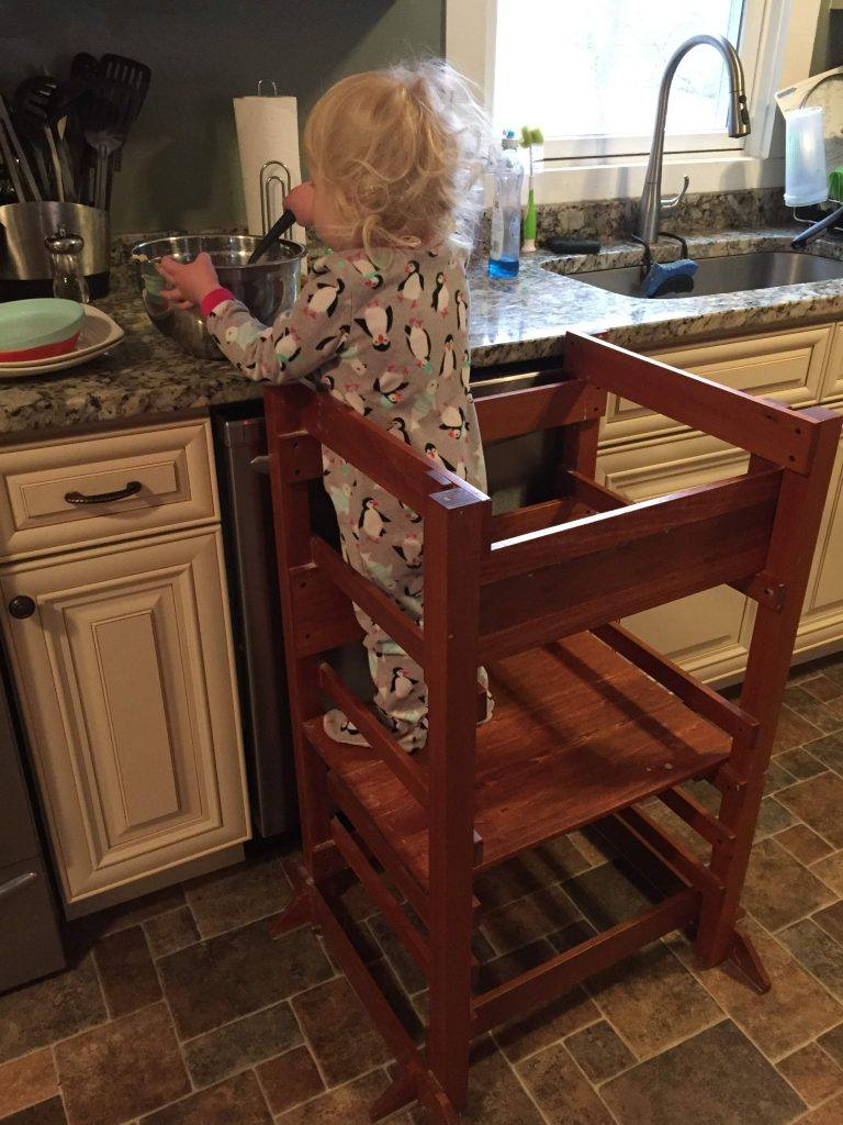 Toddler Learning Tower DYI