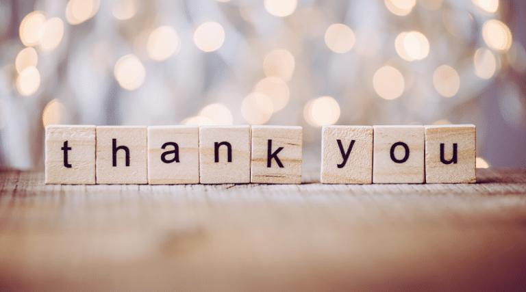 thank you written in scrabble tiles