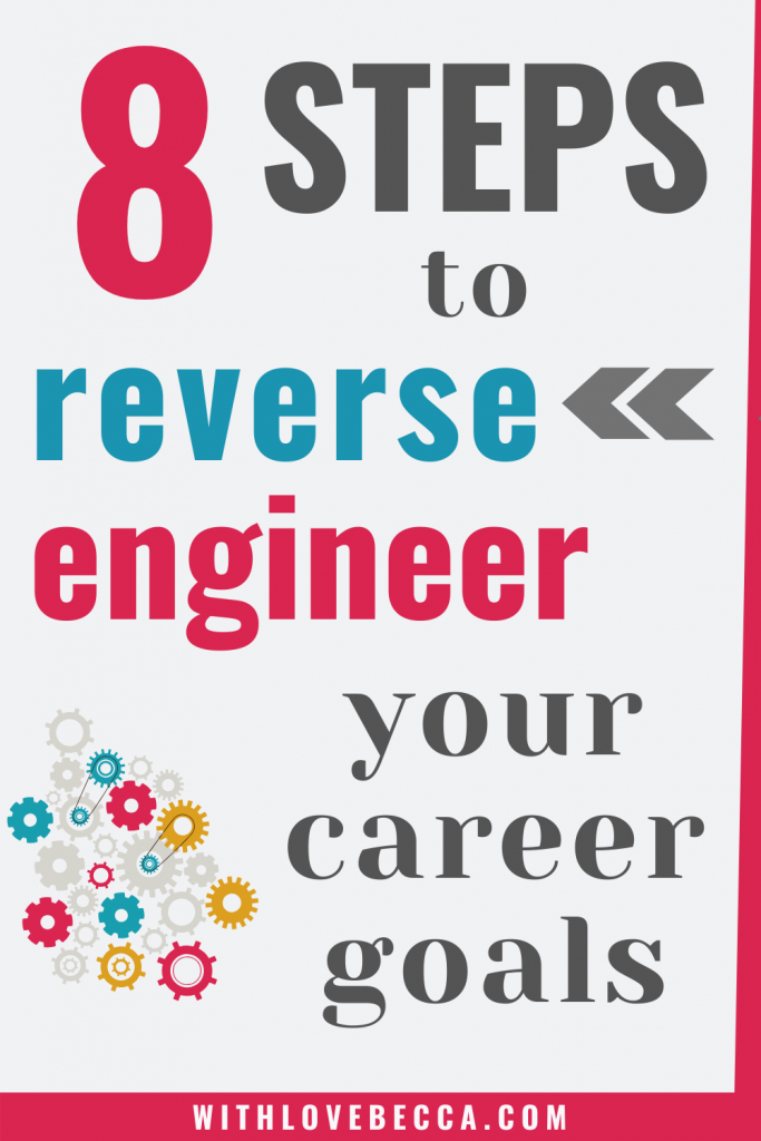 8 Steps to Reverse Engineer Your Personal and Professional Development Goals