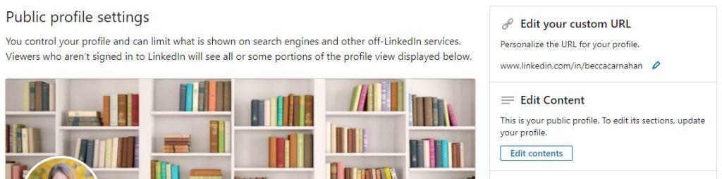 Edit LinkedIn Short URL