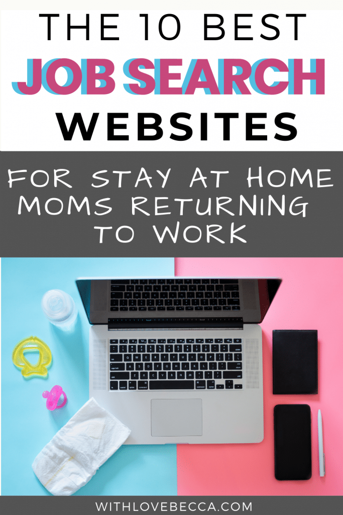 The 10 Best Job Search Websites for Stay at Home Moms Returning to Work
