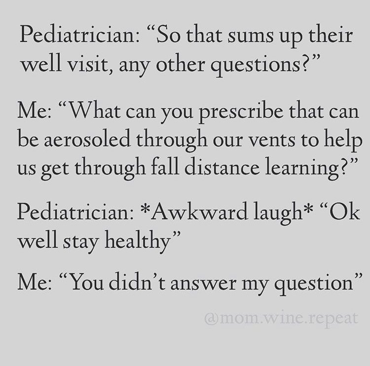 pediatrician back to school meme