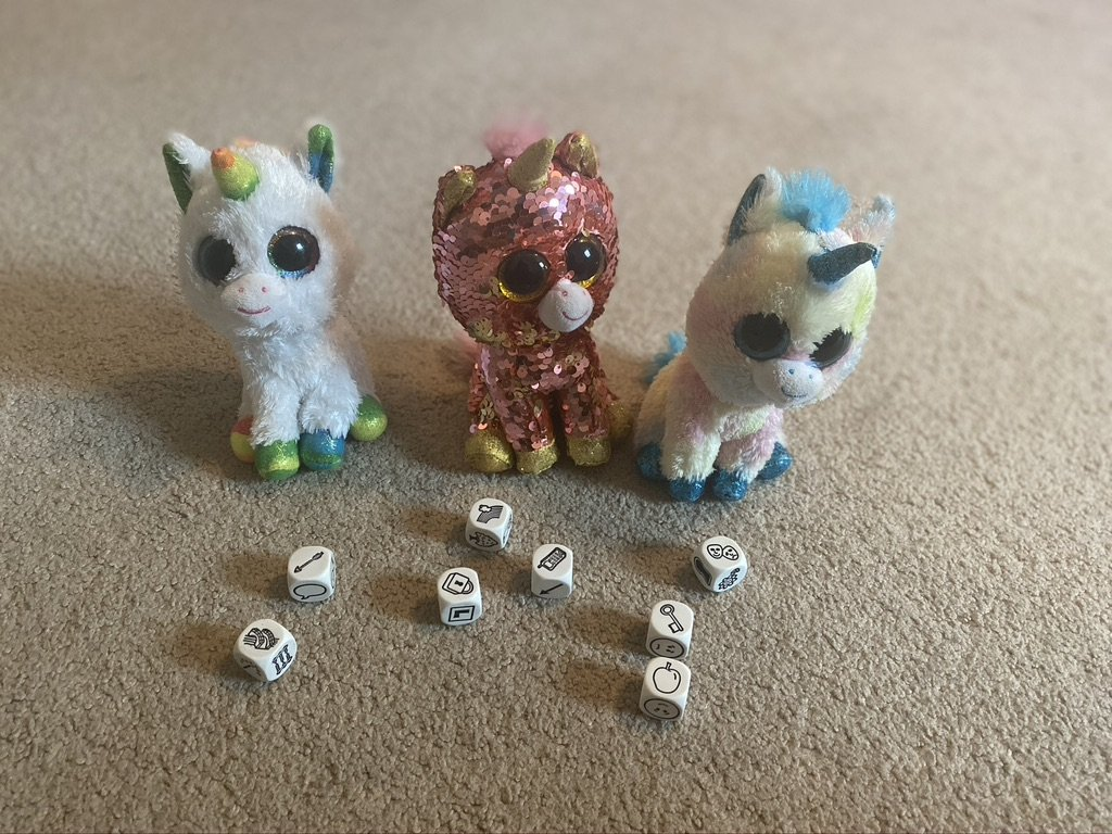 Story Cubes and Unicorns