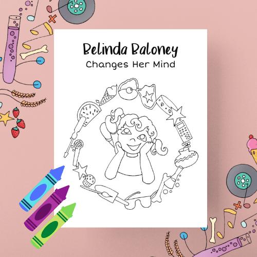 Belinda Baloney Coloring Book